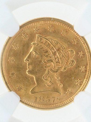 1857-quarter-eagle-ngc-ms61/18007/obv-zm