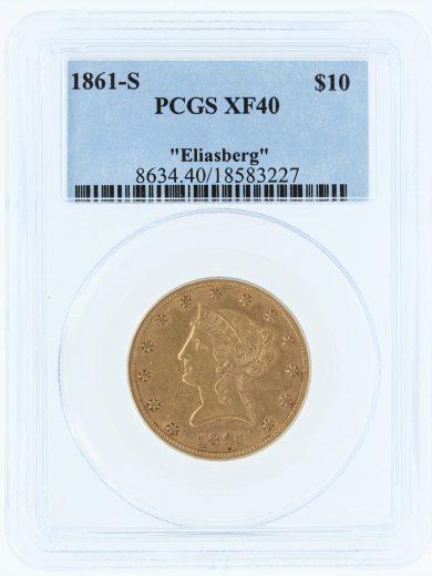1861-s-pcgs-xf40-10/83227/obv