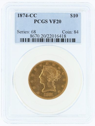1874-cc-pcgs-vf20-10/16418/obv