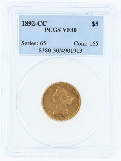 1892-cc-pcgs-vf30-5/01913/obv