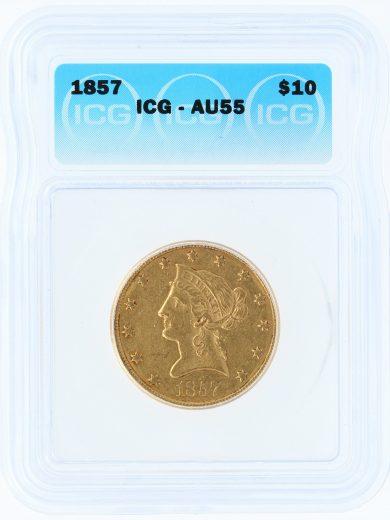 1857-icg-au55-10/60101/obv