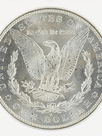 1879-S Morgan Dollar ICG MS67+ S$1 rev zm