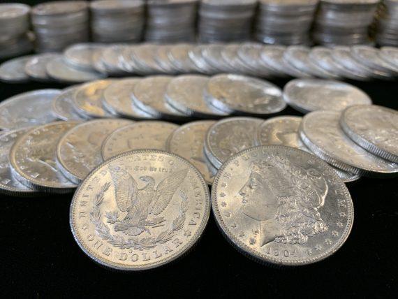 1904-O BU Morgan Dollars
