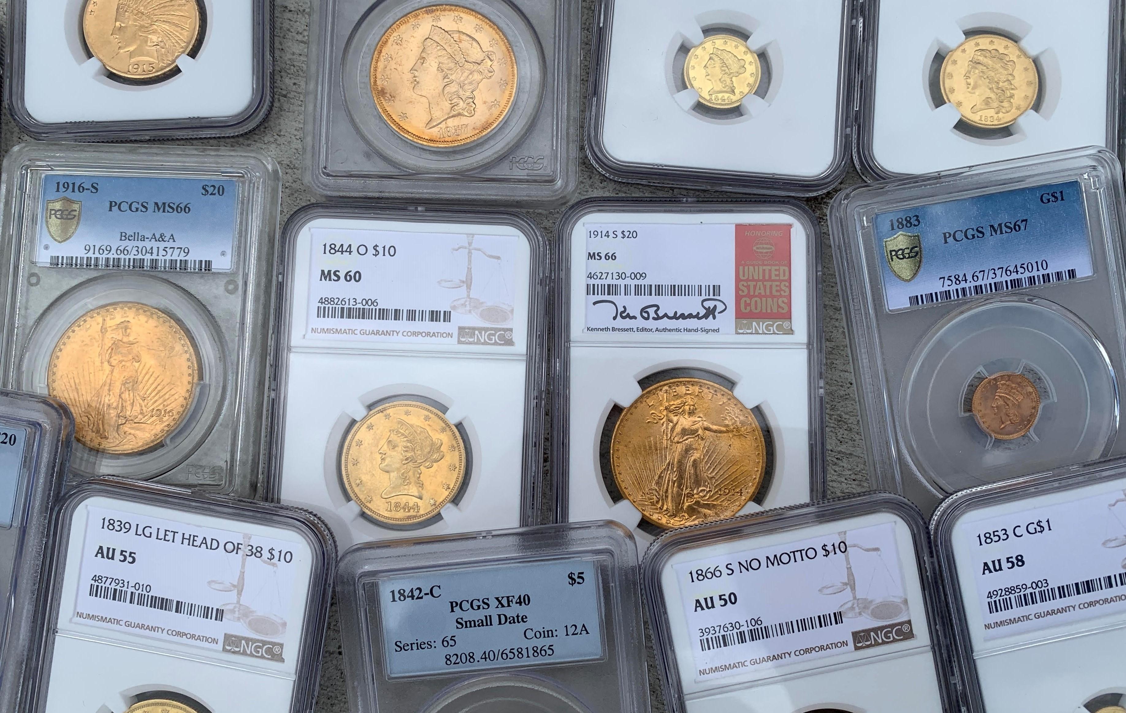 numismatic gold