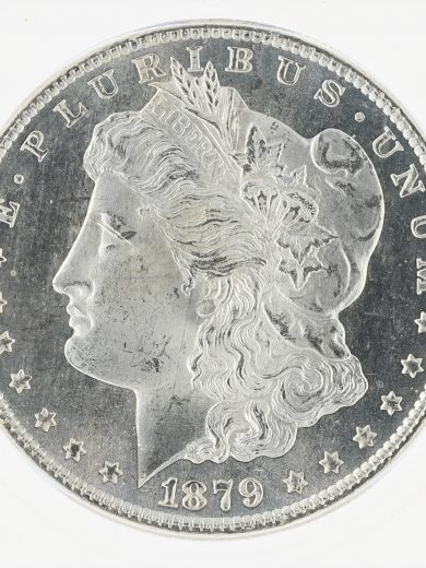 1879-S Morgan Dollar ICG MS67+ S$1 obv zm