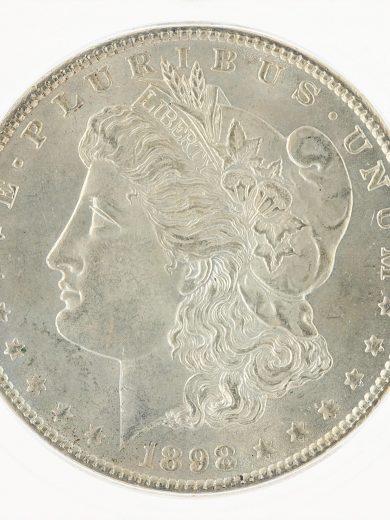 1898 Morgan Dollar ICG MS67 S$1 obv zm
