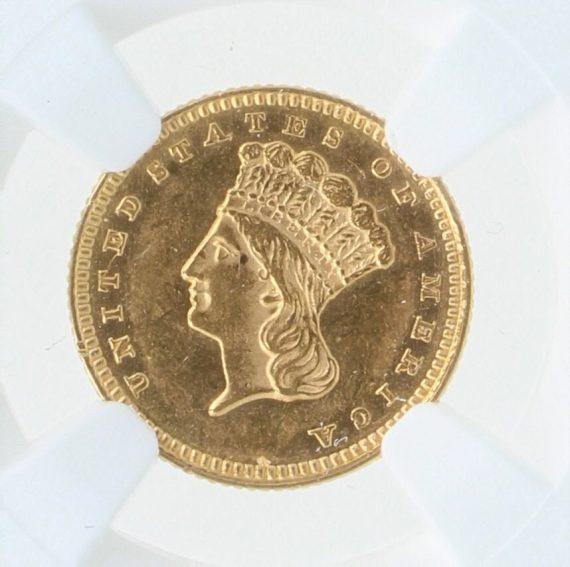 1862 NGC MS61 G$1 09001 obv-zm