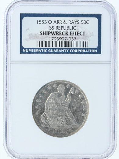 1853-O SS Republic Arr & Rays obv-07003