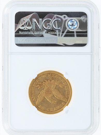 1855-S NGC VF30 $10 rev
