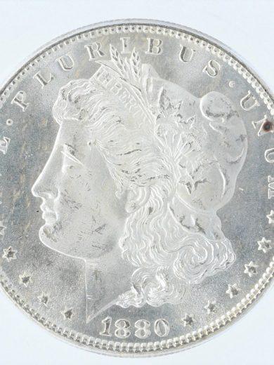 1880-S Morgan Dollar ICG MS67 80101 obv-zm