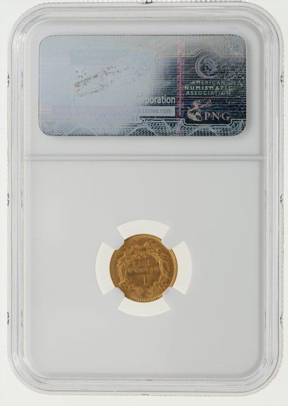 1879 Gold Dollar NGC MS63 G$1 rev