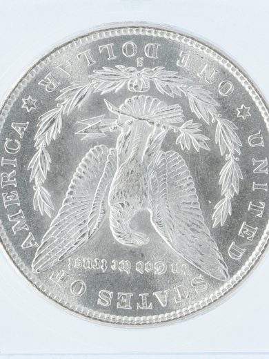 1880-S Morgan Dollar ICG MS68 S$1 rev zm