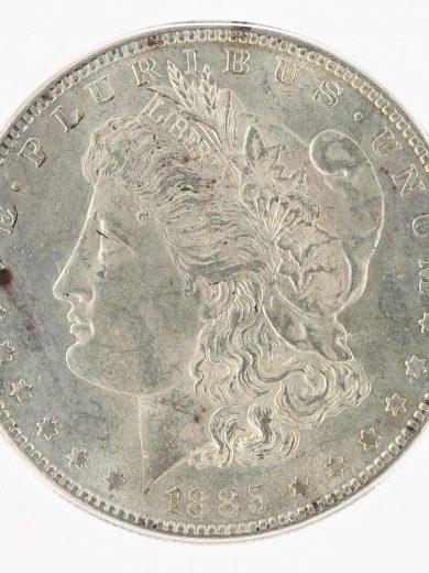 1885-S Morgan Dollar ICG MS61 S$1 obv zm