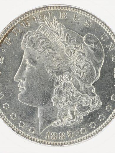 1889-O Morgan Dollar ICG MS63 S$1 obv zm