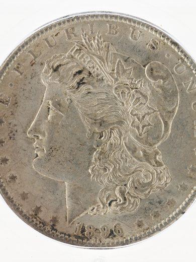 1896-O Morgan Dollar ICG MS61 S$1 obv zm
