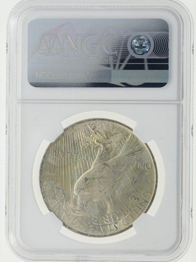 1923 Peace Dollar NGC MS66+ S$1 rev