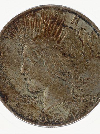 1934-S ICG MS61 Peace Dollar S$1 obv zm