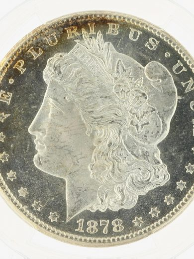 1878-CC Morgan Dollar PCGS MS64 PL S$1 obv zm
