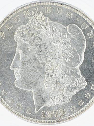 1878-CC Morgan Dollar ICG MS63 S$1 obv zm