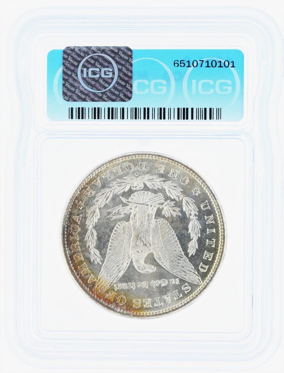 1881-S Morgan Dollar ICG MS68 S$1 rev