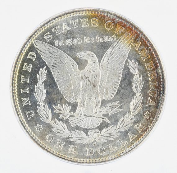 1881-S Morgan Dollar ICG MS68 S$1 rev zm