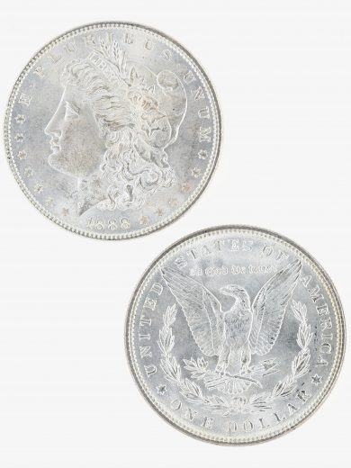 1888 Morgan Dollar Roll 2