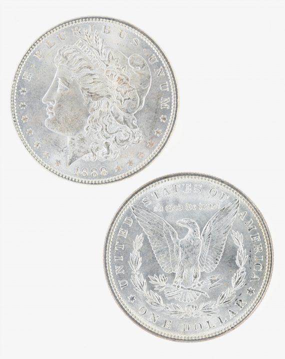 1888 Morgan Dollar Roll 2