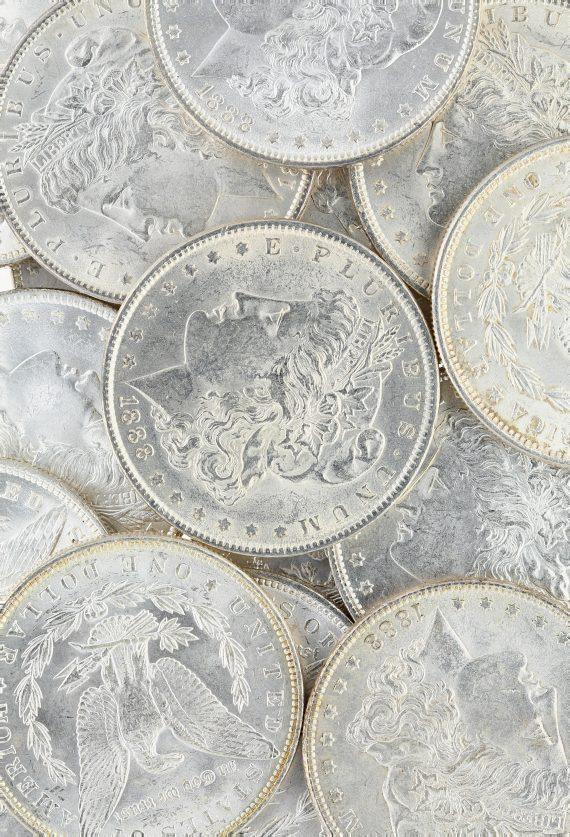 1888 Morgan Dollar Roll 1