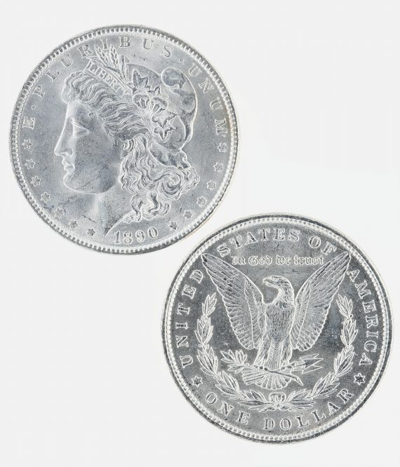 1890 Morgan Dollar Roll 3