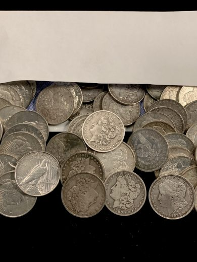Silver Dollar stimulus Coin Package 1