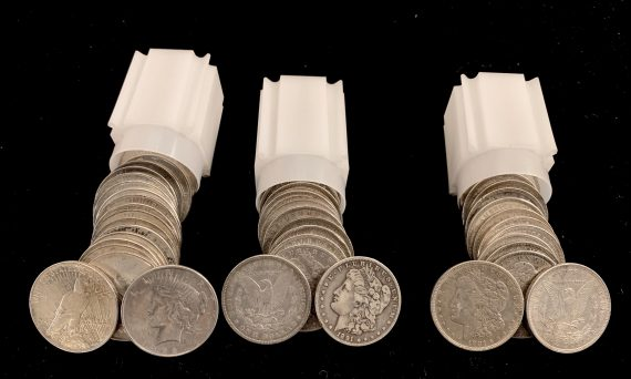 Silver Dollar stimulus Coin Package 2