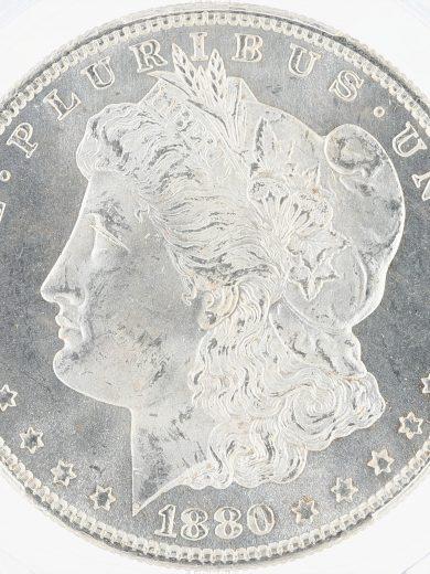1880/9-S Morgan Dollar PCGS MS66 S$1 obv zm
