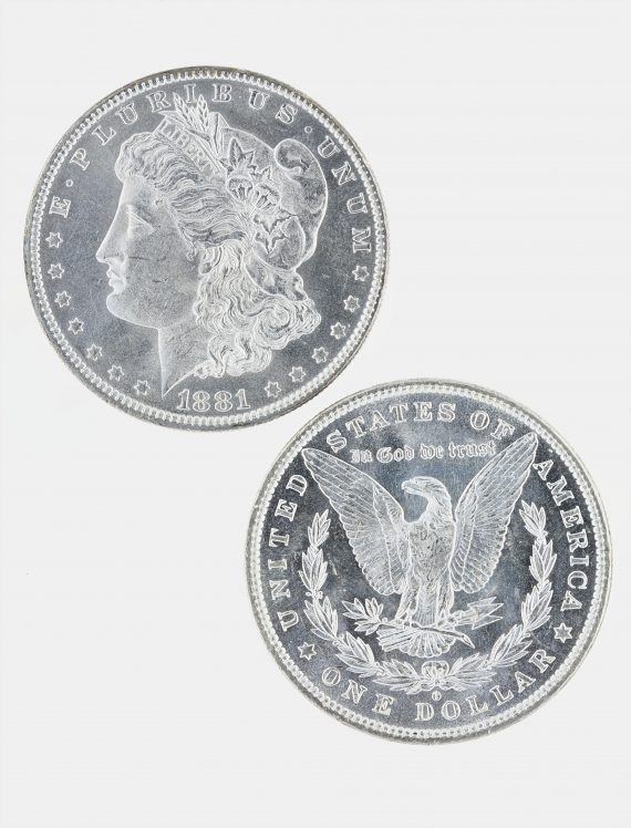 1886 Morgan Dollar BU Lot of 20