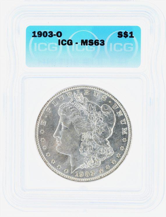 1903-O Morgan Dollar ICG MS63 S$1 obv