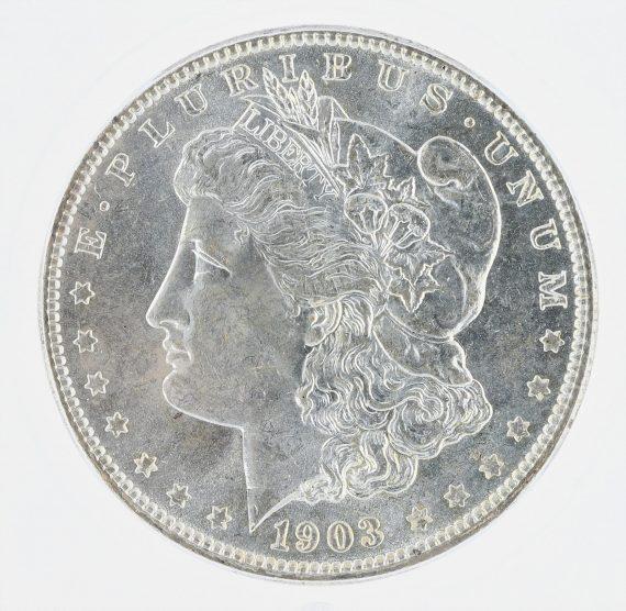 1903-O Morgan Dollar ICG MS63 S$1 obv zm