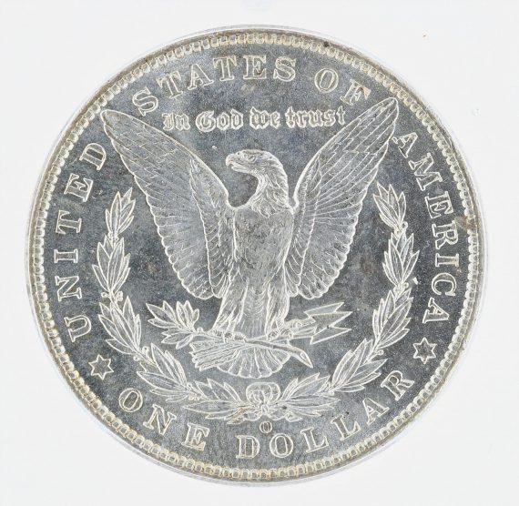 1903-O Morgan Dollar ICG MS63 S$1 rev zm