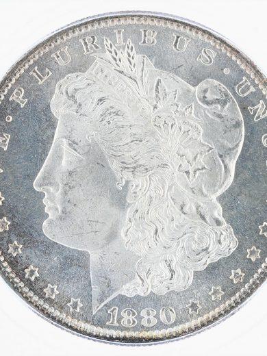 1880-S Morgan Dollar ICG MS68 S$1 obv zm