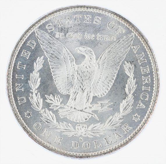 1880-S Morgan Dollar ICG MS68 S$1 rev zm