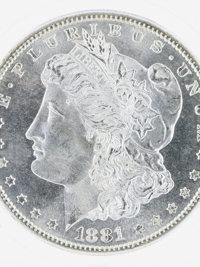1881-S Morgan Dollar ICG MS67+ S$1 obv zm