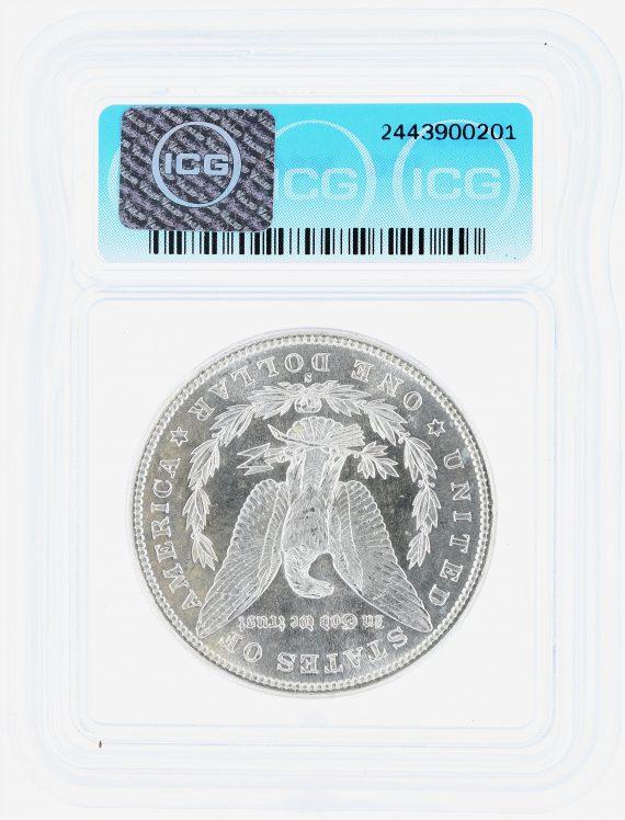 1881-S Morgan Dollar ICG MS67+ S$1 rev