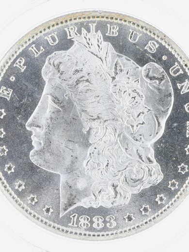 1883-CC Morgan Dollar PCGS MS64PL S$1 obv zm