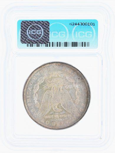 1883-O Morgan Dollar ICG MS67+ S$1 rev