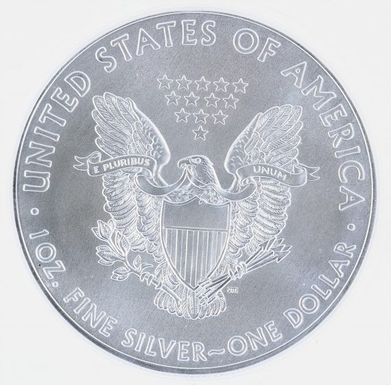 2020(P) Silver Eagle ICG MS70 S$1 Emergency Production rev zm