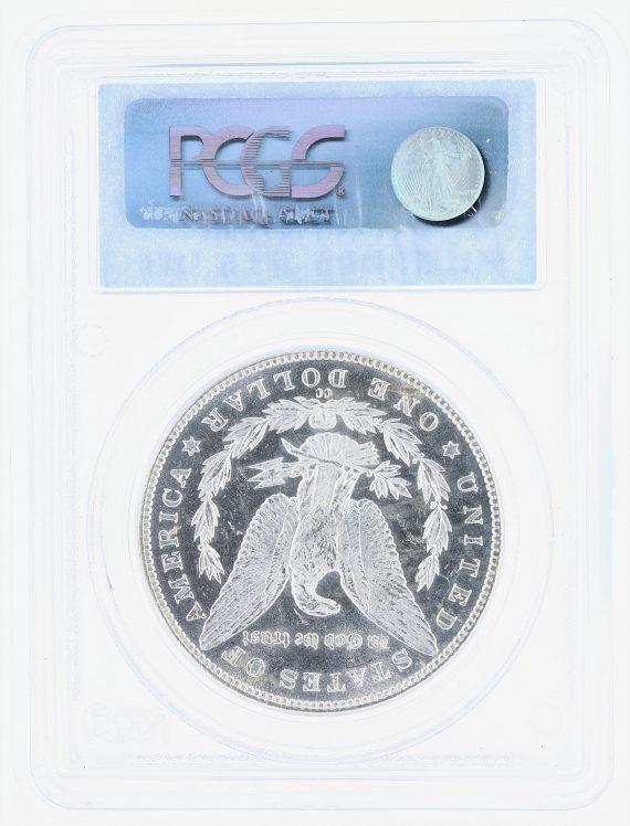 1884-CC Morgan Dollar PCGS MS65PL S$1 rev