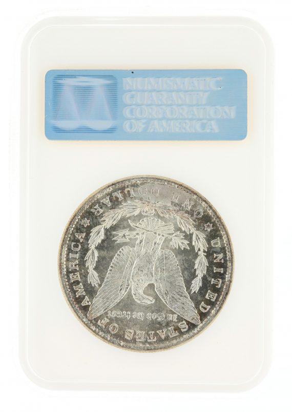 1882-S Morgan Dollar NGC MS65 DPL S$1 rev