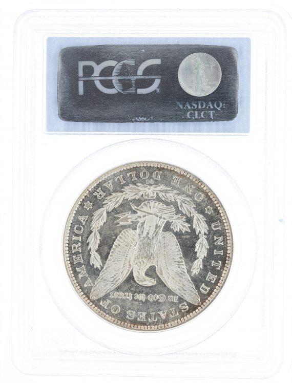 1891-CC PCGS MS63PL S$1 Morgan Dollar rev