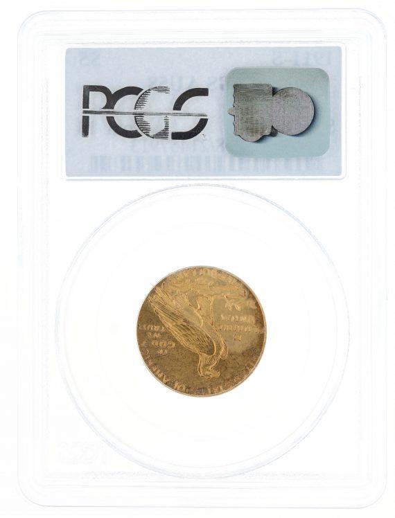 1911-S Half Eagle PCGS AU58 $5 Indian Head rev