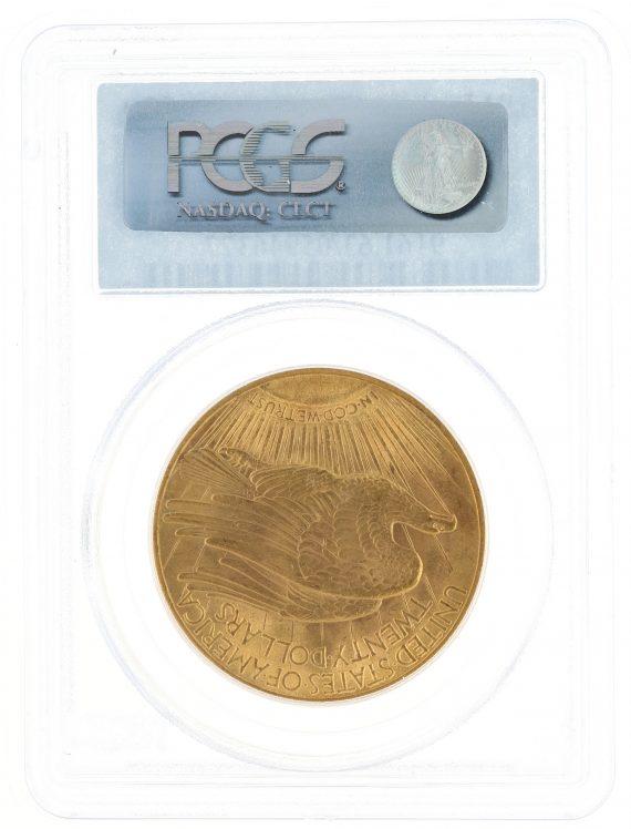 1913 Saint Gaudens PCGS MS63 $20 rev