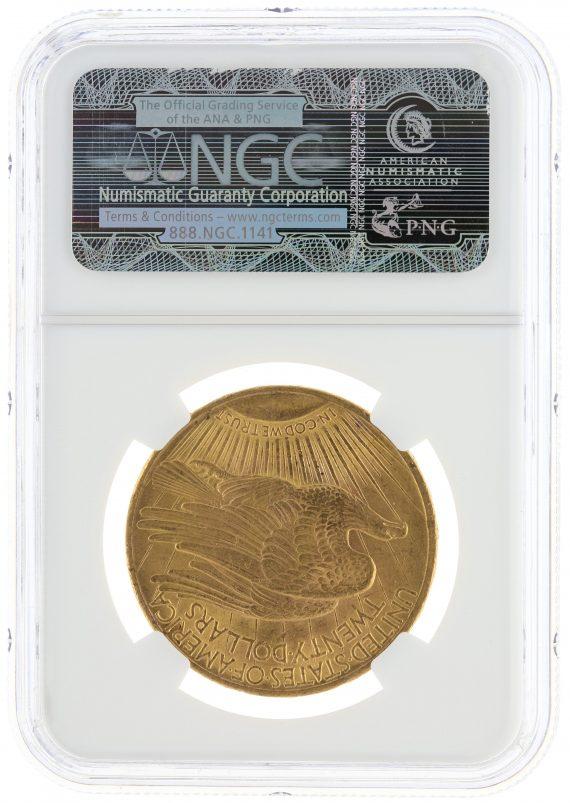 1915 Saint Gaudens NGC MS63 $20 rev