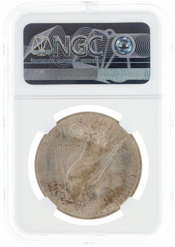 1923 Peace Dollar MS66 ICG S$1 rev